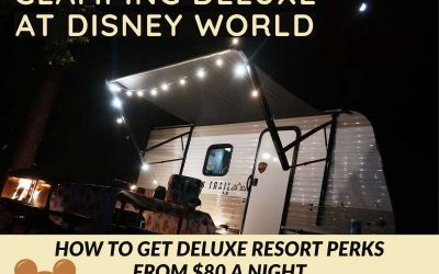 Camping at Disney World: Get Deluxe Resort Amenities for $80 a Night