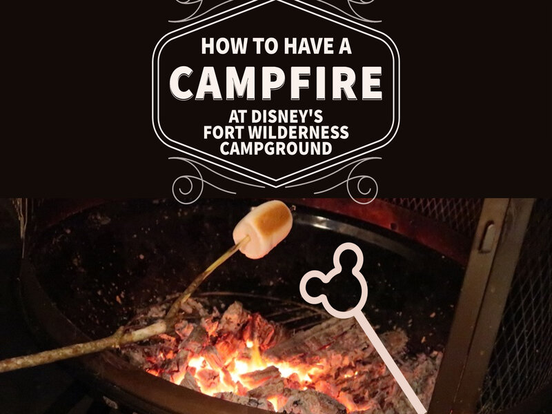 Disney World Glamping: How to Have a Campfire at Fort Wilderness