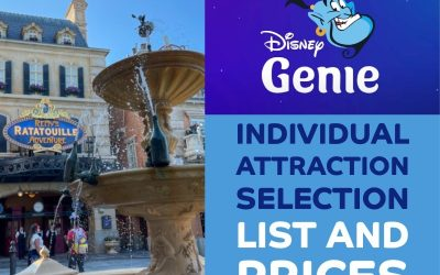 Disney Genie: Full List and Cost of Individual Attraction Selections at Disney World