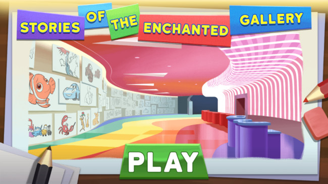 Stories of the Enchanted Gallery mobile game