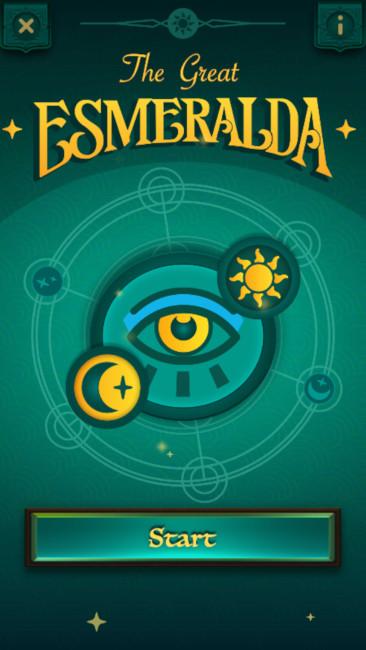 The Great Esmeralda mobile game