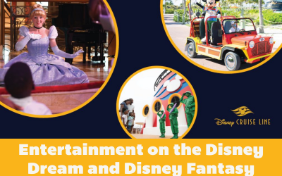 All the Awesome Entertainment Aboard the Disney Dream and Disney Fantasy