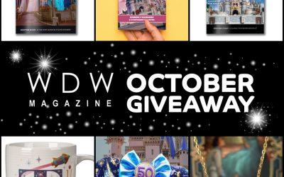 WDW Magazine October Disney Giveaway