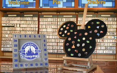 Get In on the Fun with Disney Pin Trading During WDW's 50th Anniversary
