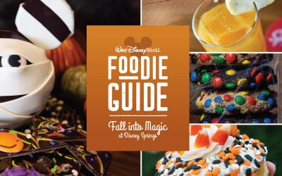 Disney Springs Scares Up Quite a Menu of 2021 Halloween Snacks and Sips