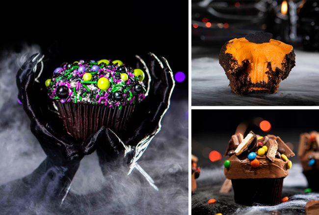 disney-springs-halloween-food-and-drinks-2021-sprinkles-cupcakes-black-velvet-double-stuffed-oreo-trick-or-treat_disney-parks-blog