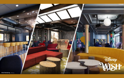 Disney Wish Teen Lounges Include 3 Cool Cruise Hangout Spots: Edge, Vibe, and The Hideaway