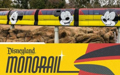 BIG NEWS: The Disneyland Monorail Has Reopened at Last