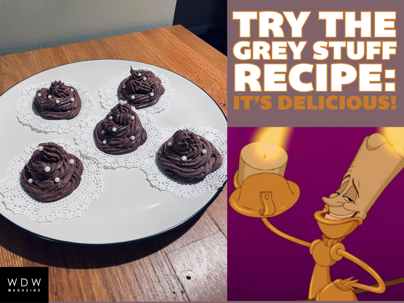 Try the Grey Stuff Recipe from Disney's Beauty and the Beast