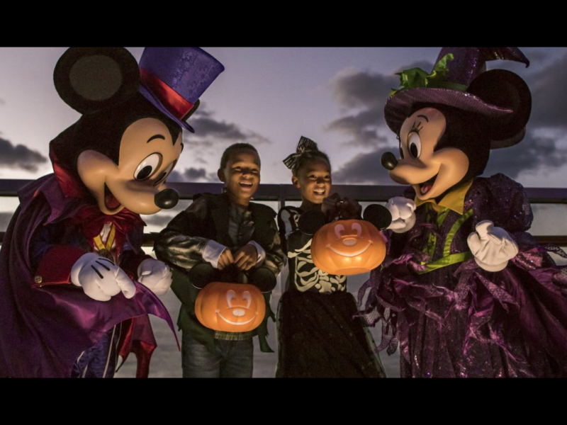 5 Must-Do Halloween on the High Seas Activities Aboard Your Disney Cruise