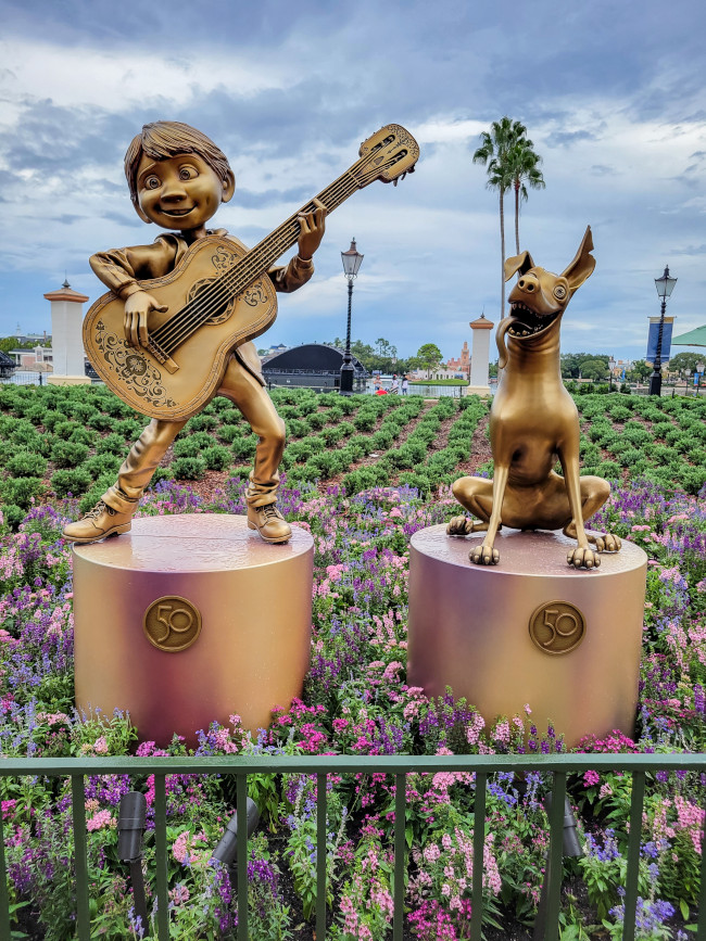 miguel-and-dante_where-to-find-disney-fab-50-statues-in-epcot_lazar