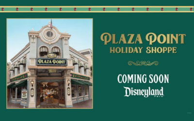 BREAKING: Plaza Point Holiday Shoppe Coming Soon to Disneyland