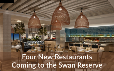 Four New Swan Reserve Restaurants Offer Mouthwatering Menus at Walt Disney World