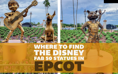 Where to Find All the Disney Fab 50 Statues in EPCOT: A Detailed Guide