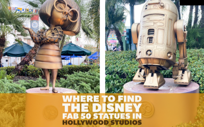 Where to Find All the Disney Fab 50 Statues in Hollywood Studios: A Detailed Guide