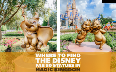 Where to Find All the Disney Fab 50 Statues in Magic Kingdom: A Detailed Guide