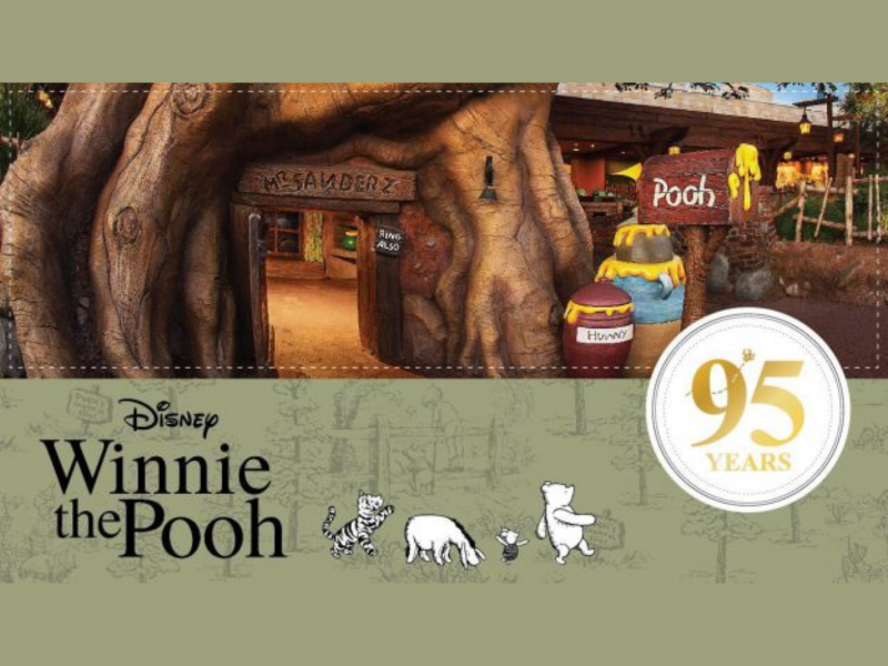 Celebrate Winnie the Pooh's 95th Anniversary Across the World